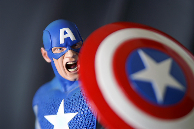 Captain America photograph by Andy Roth