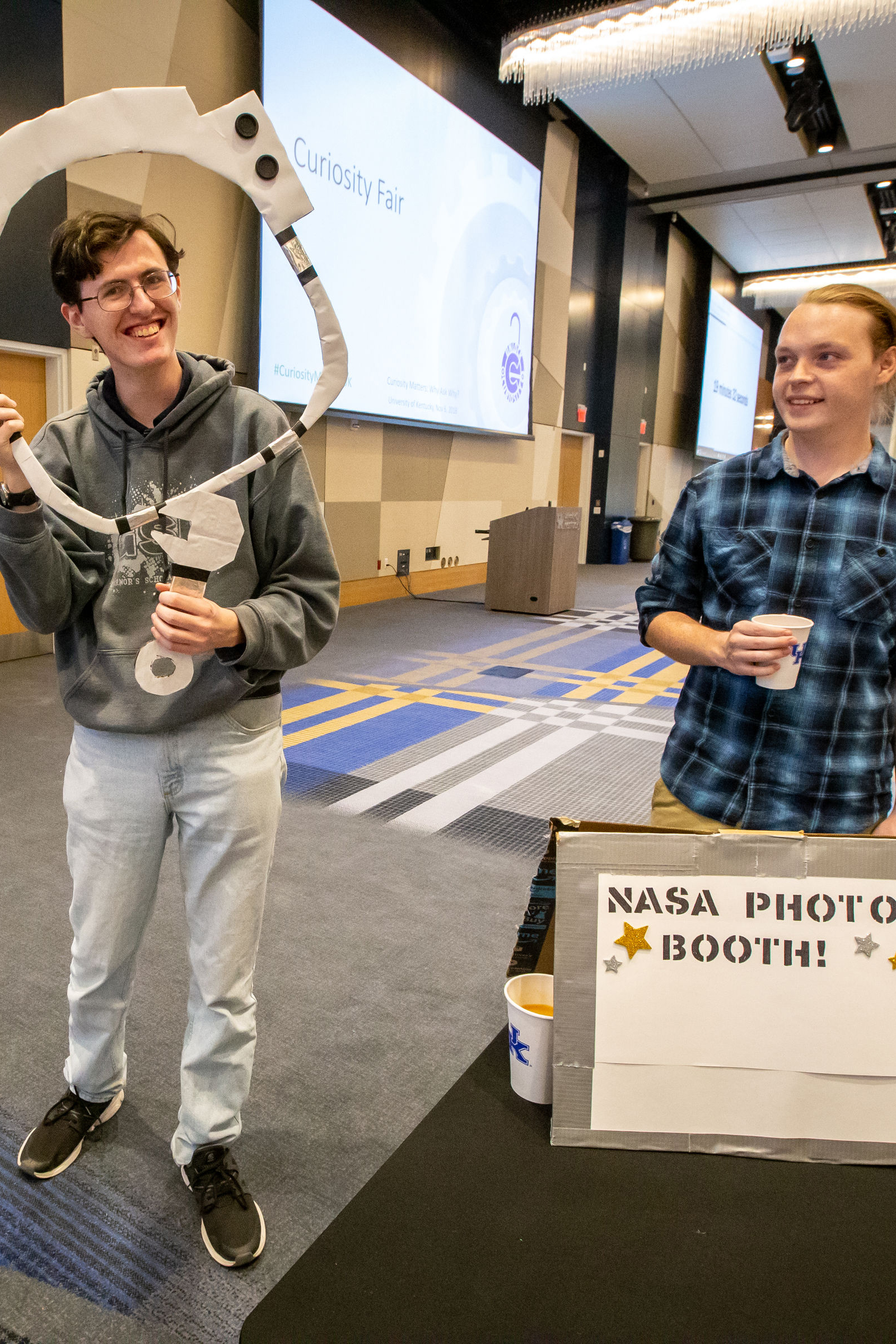 NASA Photo Booth