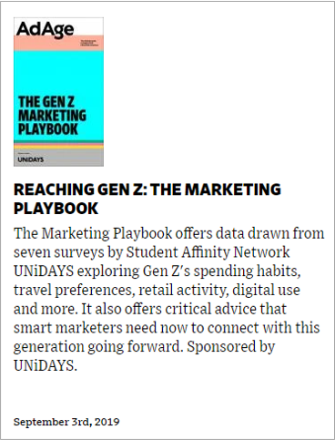 Reaching Gen Z - Marketing Playbook