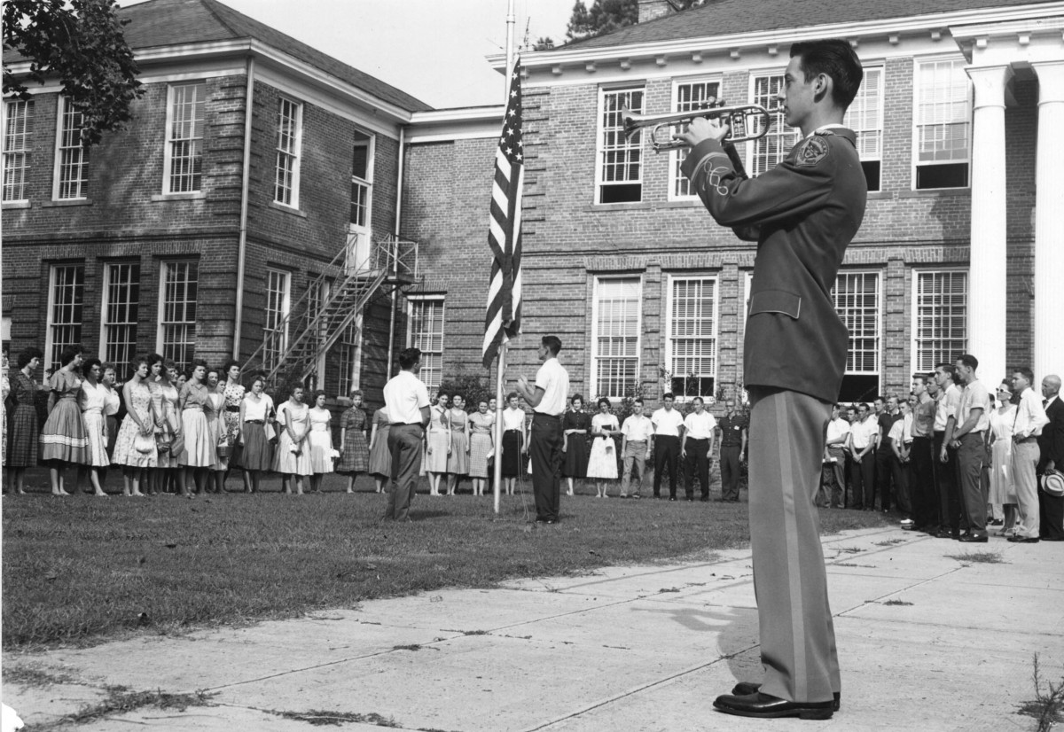 Orientation, Sept. 6, 1961 - Original Mount Olive Campus