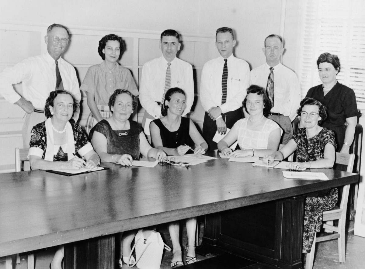 Faculty, ca. 1956