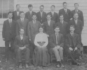 Ayden Ministerial Students 1912-13
