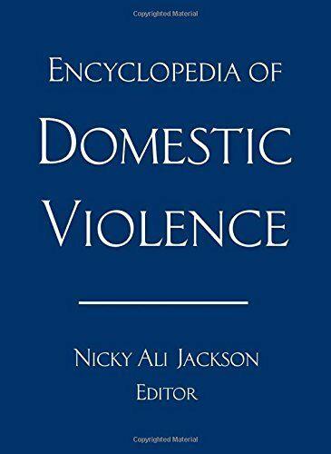 Book Cover Enclopedia of Domestic Violence