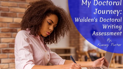 My Doctoral Journey: Walden's Writing Assessment Blog