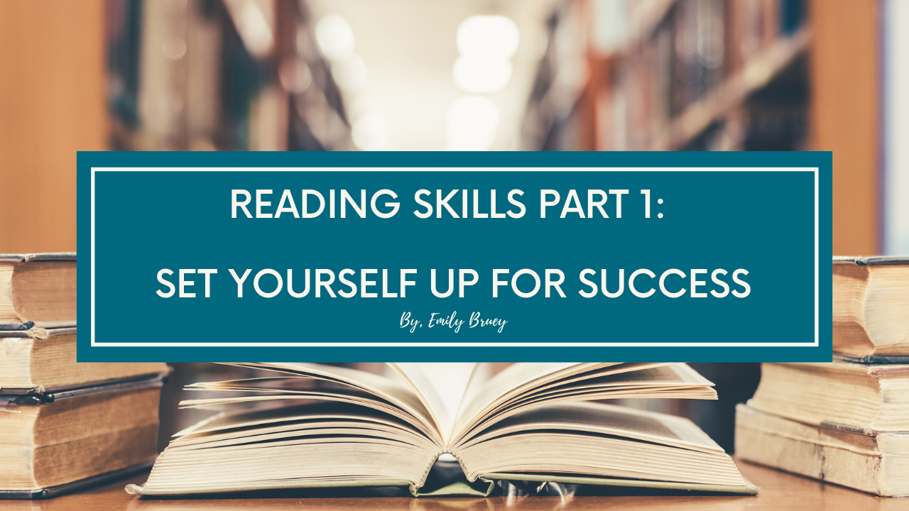 Reading Skills Part 1 Blog Post