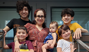 Ashley Pena Family Photo