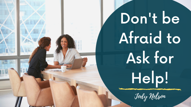 Don't be afraid to ask for help (blog)