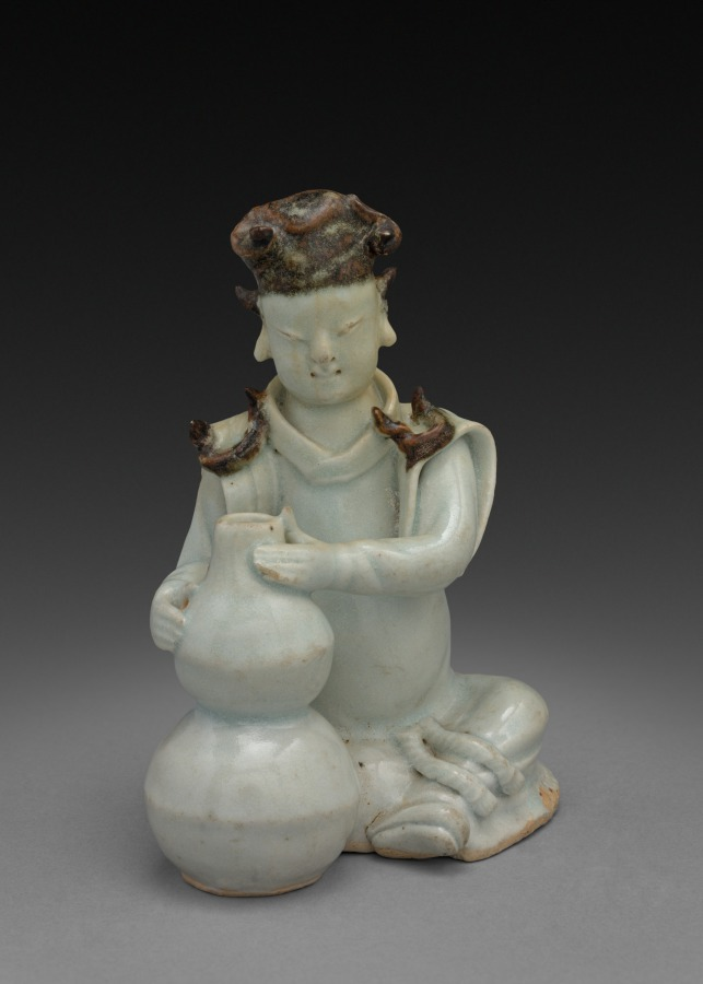 Porcelain figure from China