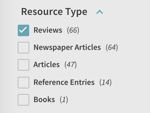 resource type