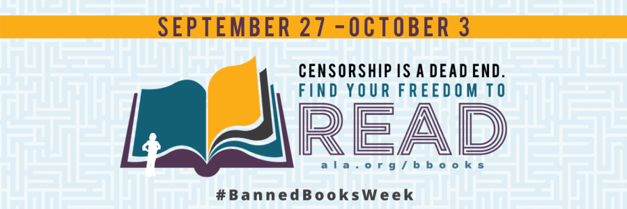 Banned Books Week September 27th to October 3rd
