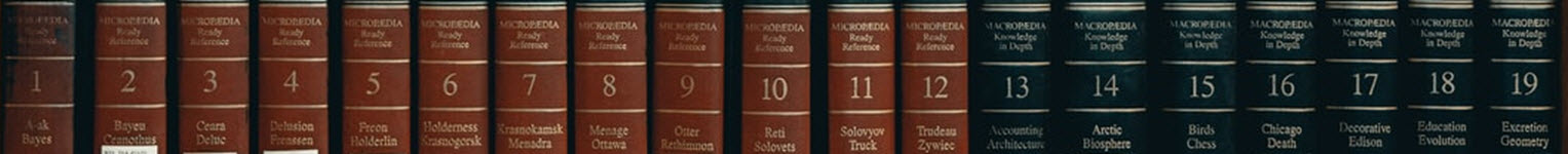 Part of the Britannica Encyclopedia set with the volumes and subjects