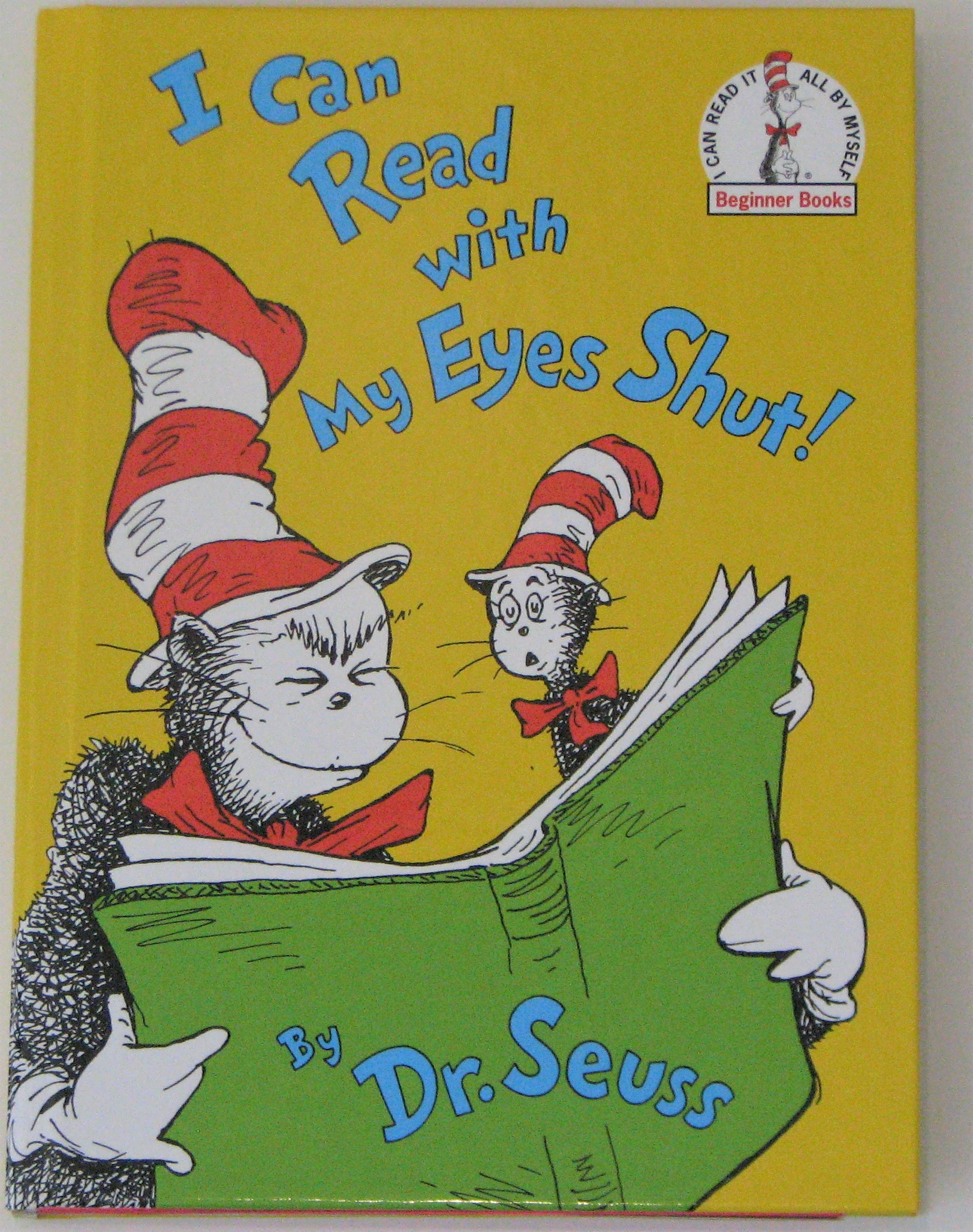Book Cover for the Dr. Seuss Book