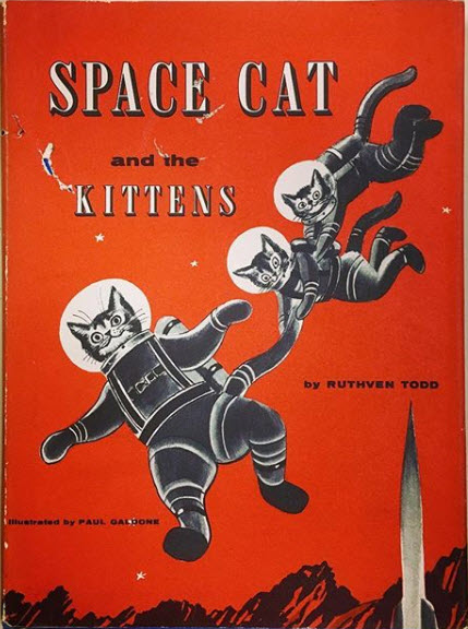 Book cover for Space Cat and the Kittens