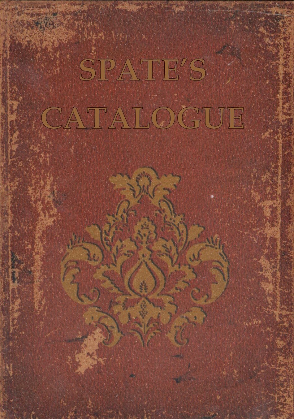 The Spates Catalogue