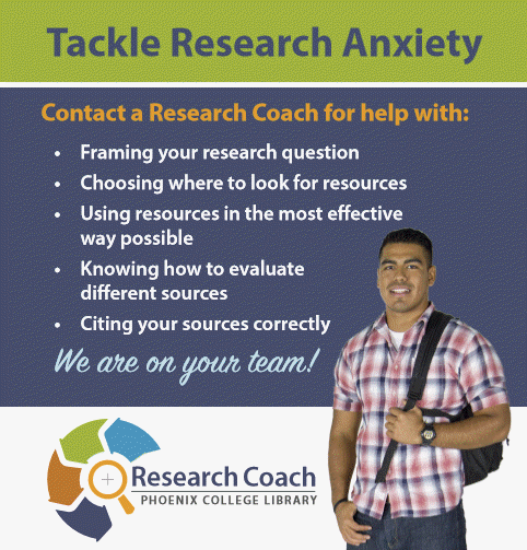 Research coach helps alleviate research anxiety