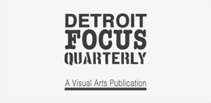 Photo of the cover of an issue of Detroit Focus Quarterly