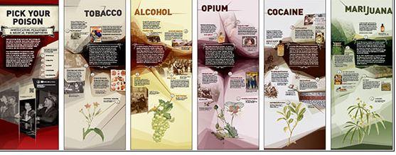 Pick Your Poison Exhibition Panels