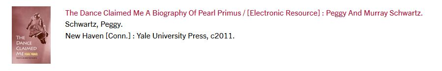 Image of record for an e-book in results list in library catalog