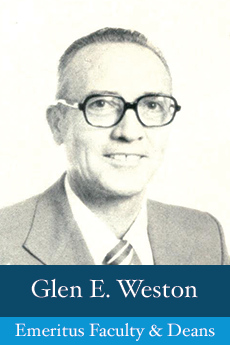 Photo of Glen E. Weston