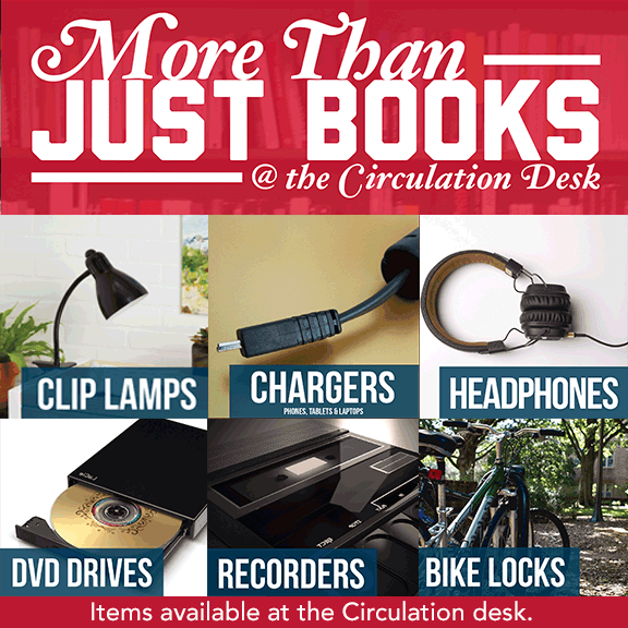 More Than Just Books! See what else GW Law Library has to offer.