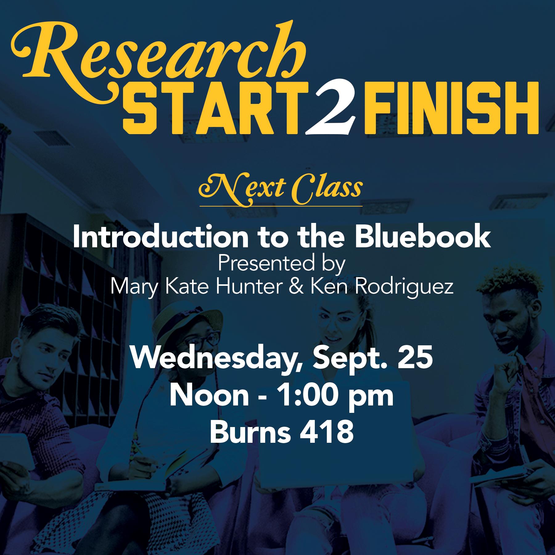 Research Start2Finish
