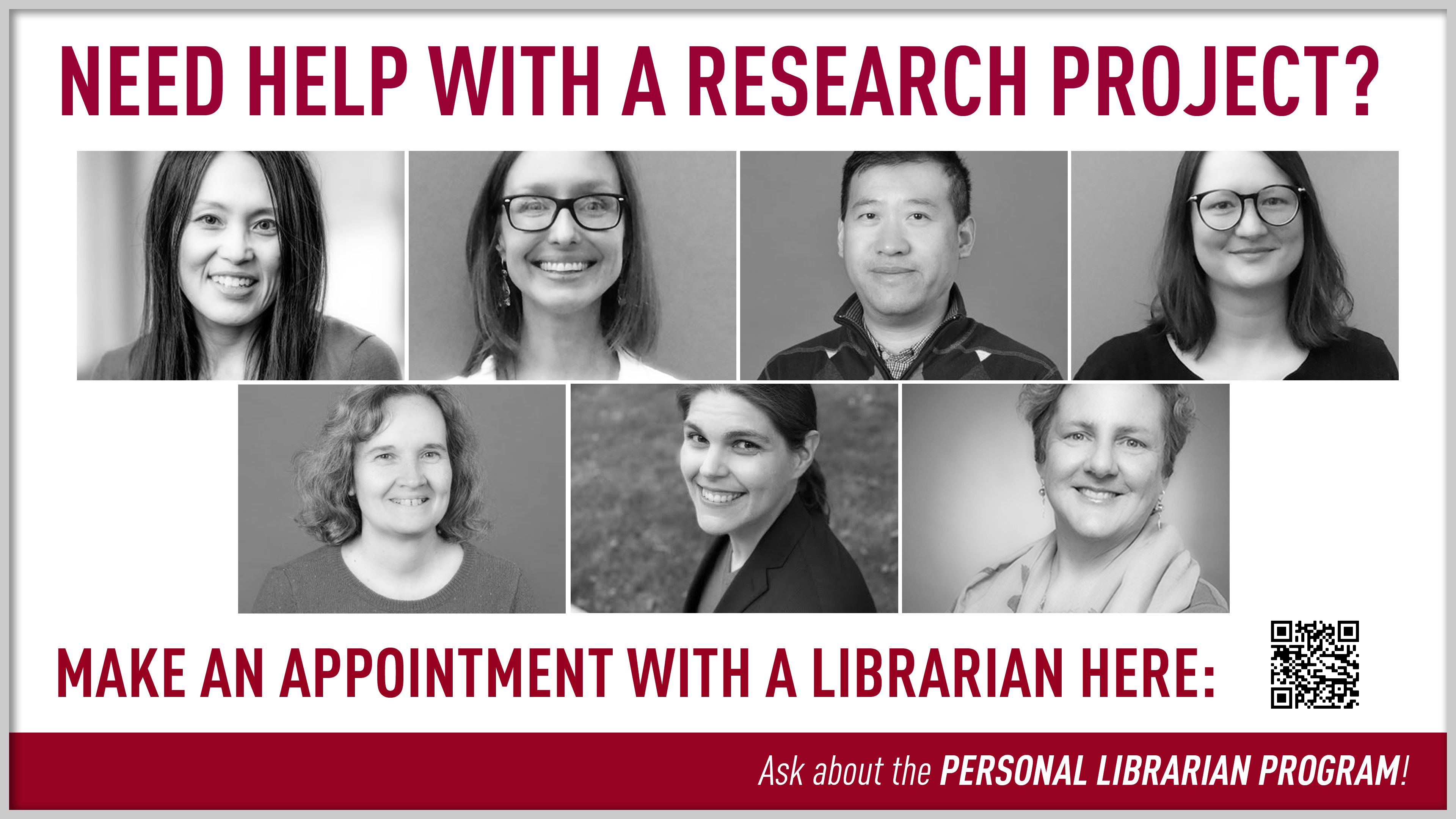 Seven Personal Librarians
