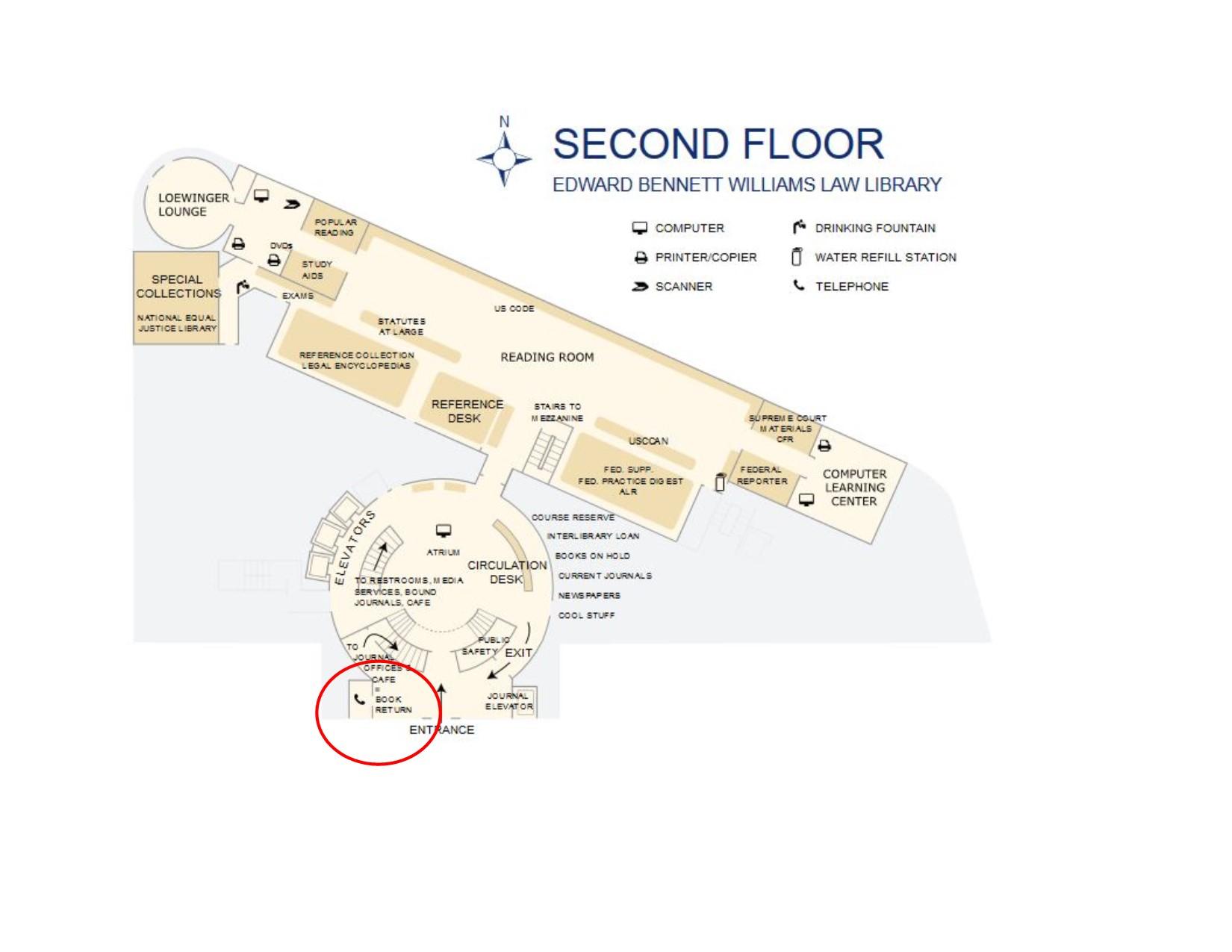 Screenshot of 2nd floor