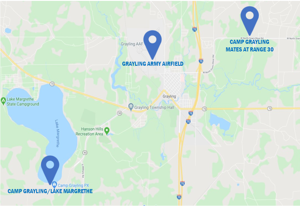 RAB site map