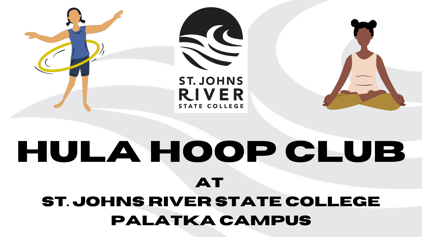 Hula Hoop Club Logo Banner