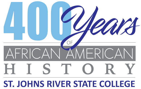 SJR State's commemoration logo