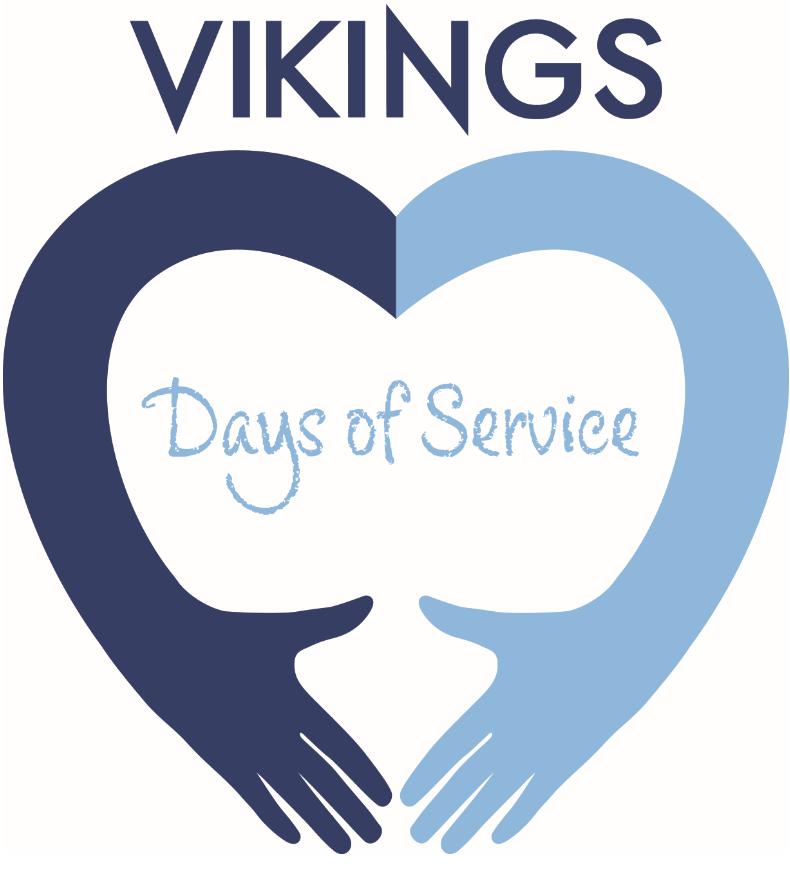 Vikings Days of Service logo