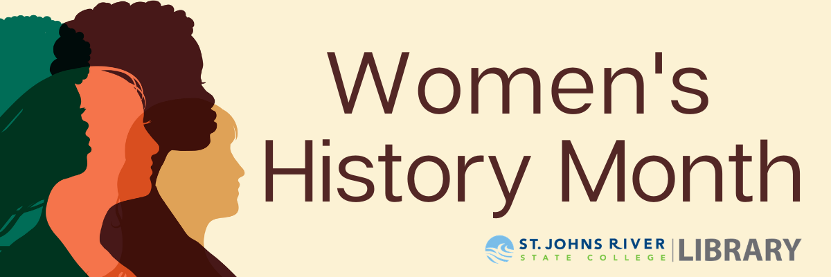 Women's History Month at SJR State Library