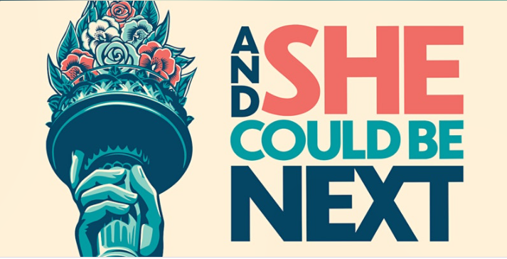 And She Could Be Next logo