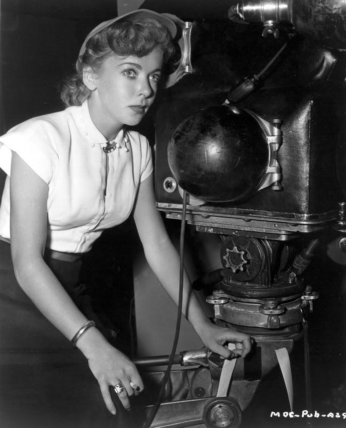 Ida Lupino With Camera