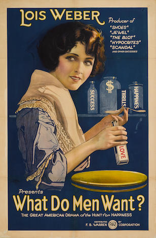 Image of movie poster for What Do Men Want