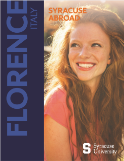 Syracuse Abroad - Florence viewbook cover