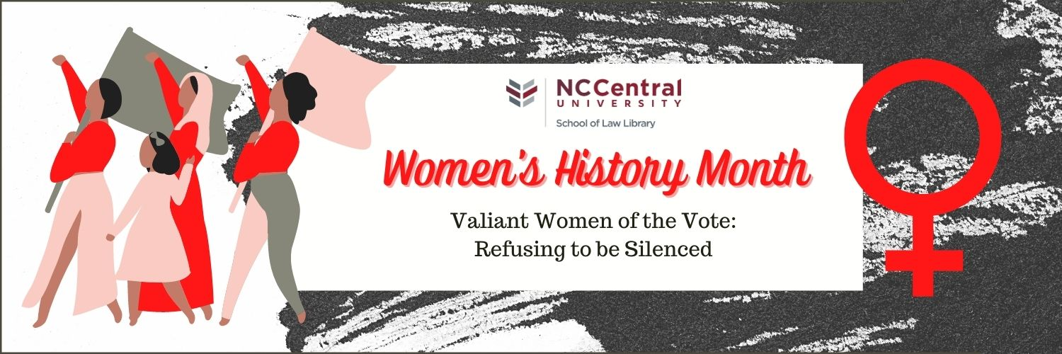 Women's History Month - March 2021