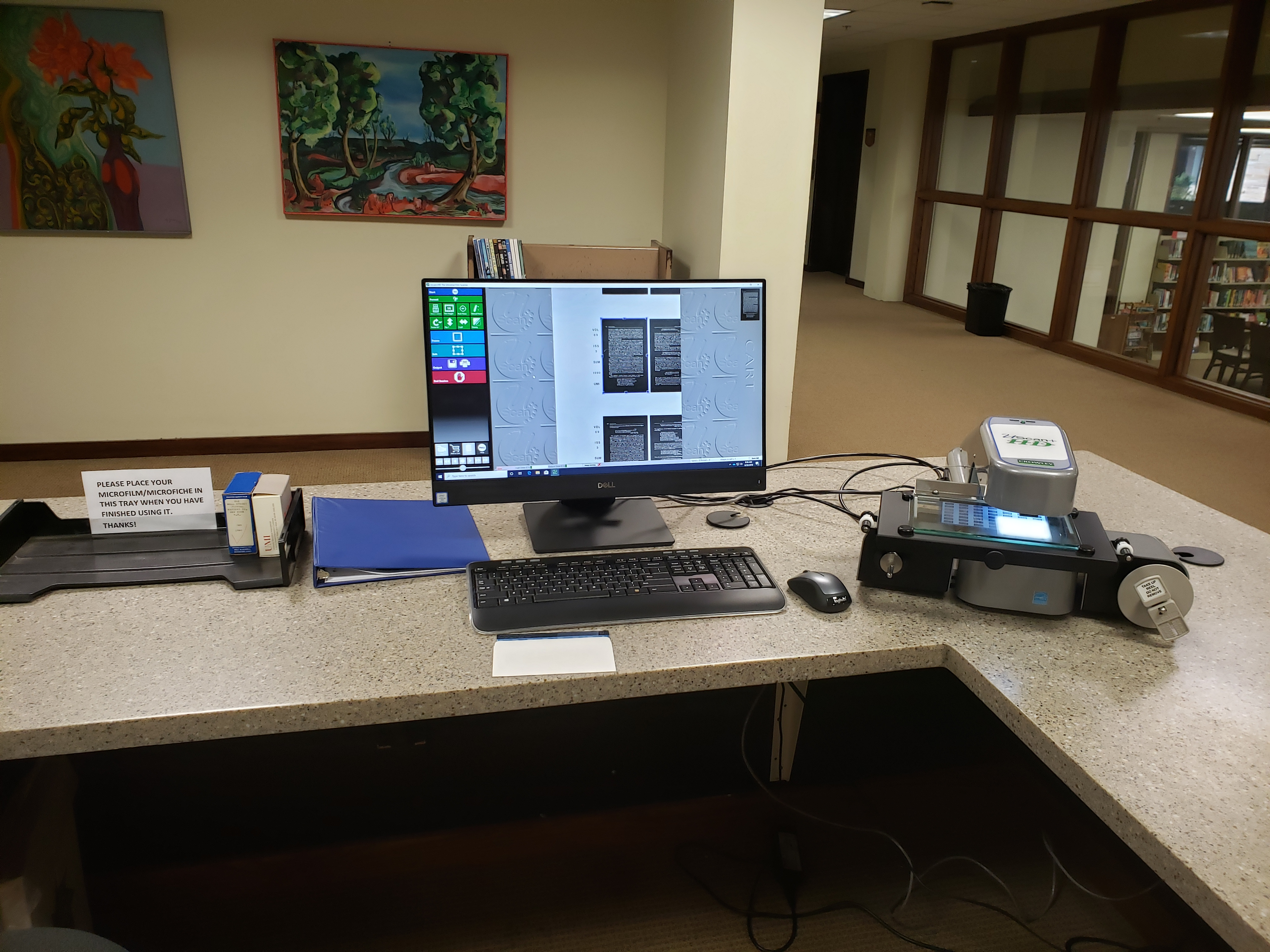 Microflim & Microfiche Scanner