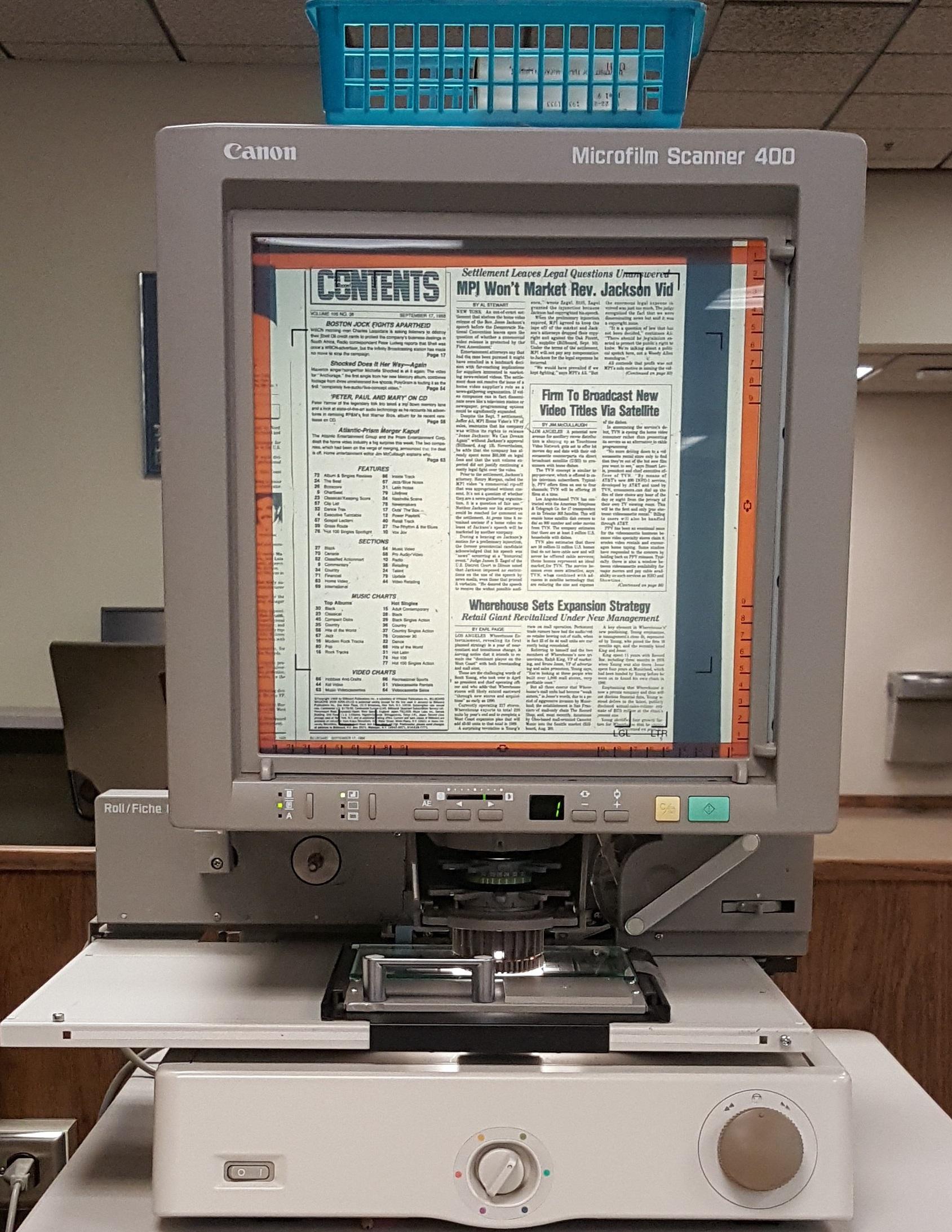 Microflim & Microfiche Printer