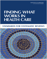 Cover of book Finding what works in health care
