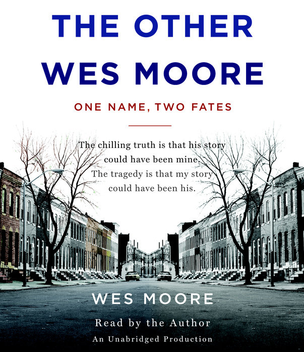 Book Cover for the Other Wes Moore