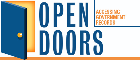 logo for SPJ program called Opening Doors