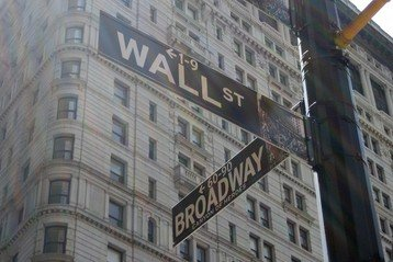 Photo of Wall Street sign