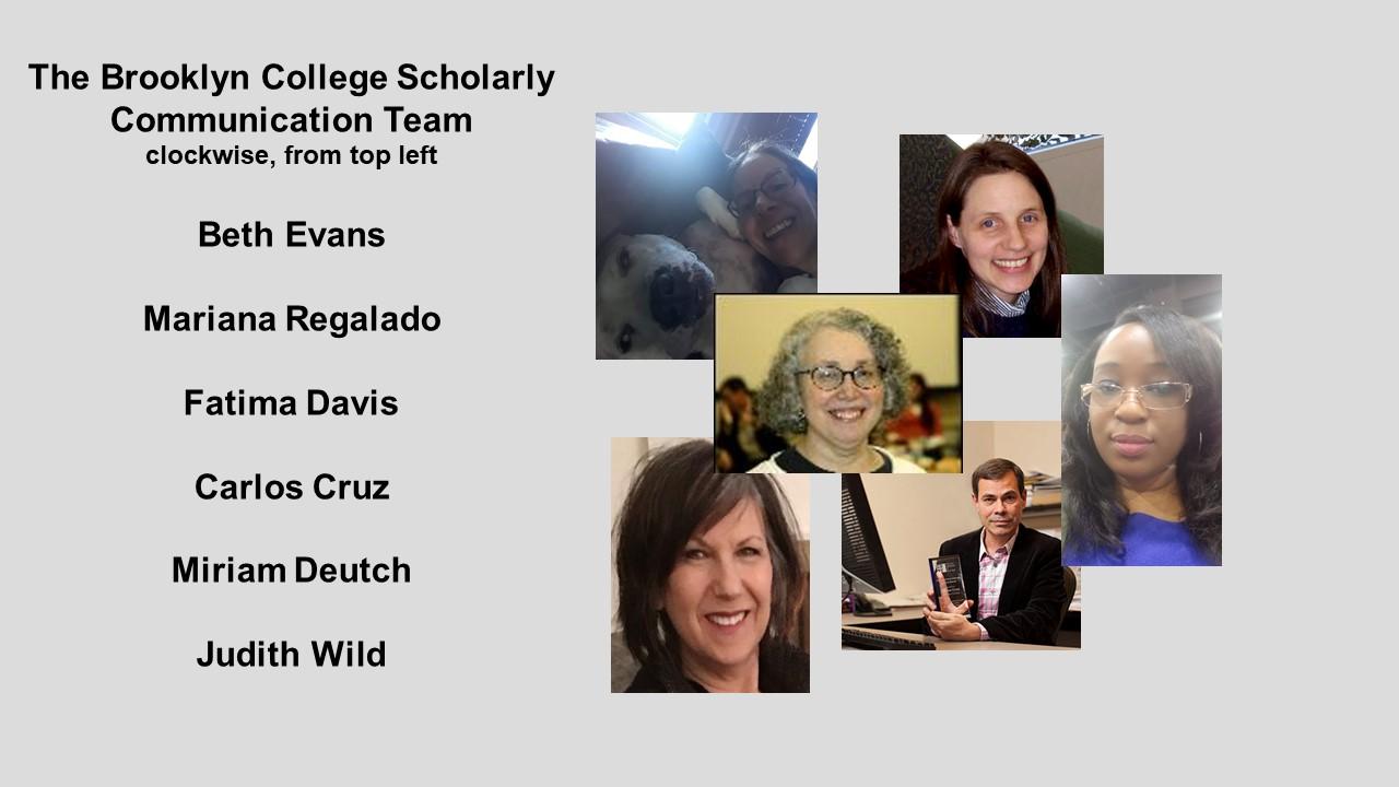 scholarly communication team