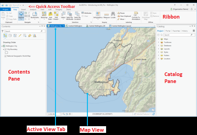 ArcGIS Pro Views and Panes