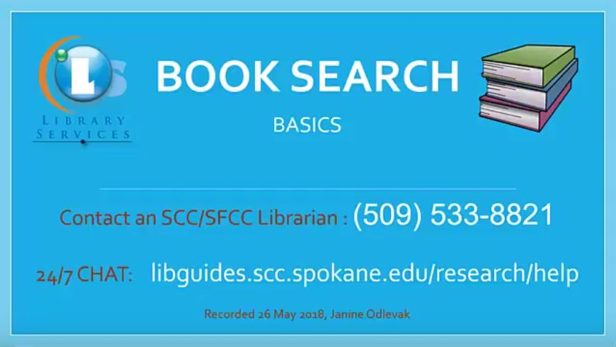 Book Search Basics
