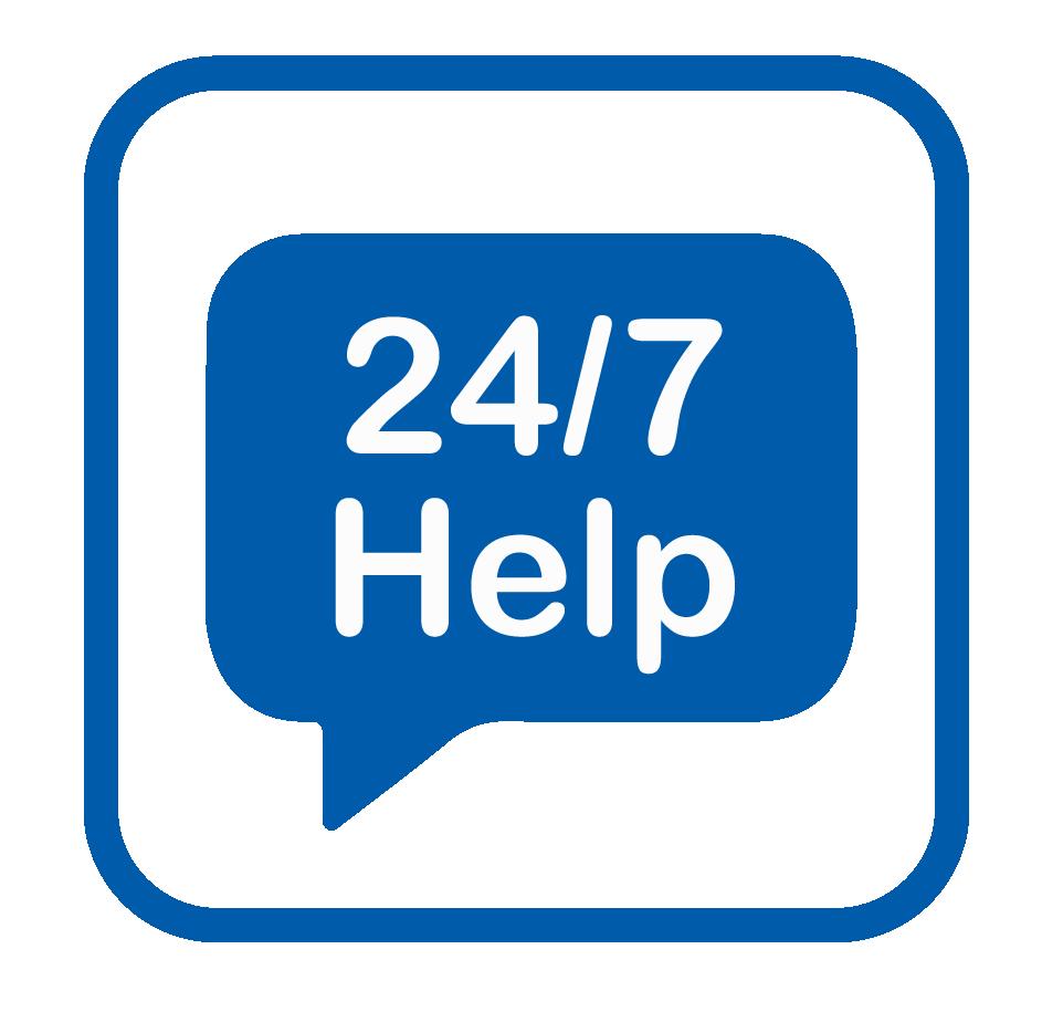24/7 HELP