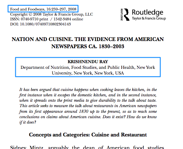 Screenshot of the top portion of a scholarly journal article, showing the number of pages and the author's credentials.