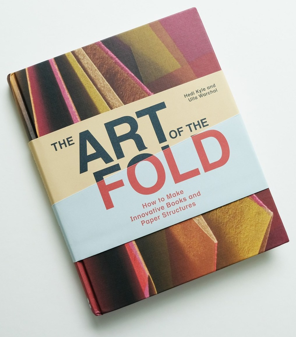 full color photograph of the front cover of the art of the fold.