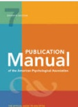 cover of APA style manual